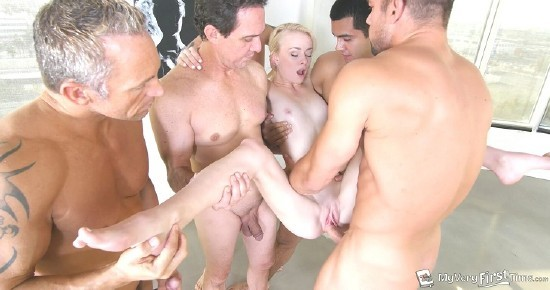 MyVeryFirstTime - Maddy Rose - Maddys First Gangbang (720p/1.23 GB)