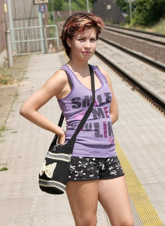 MySexyKittens - Nikita - At The Railway Station (HD/673 Mb)