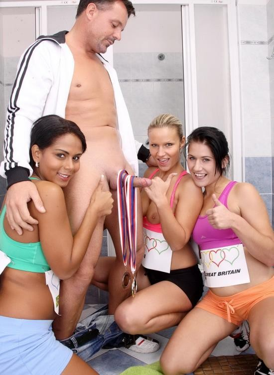 MySexyKittens - Samantha, Izabella, Lucy - Sports! (HD/831 Mb)