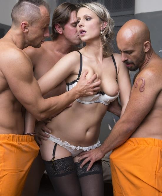 DorcelClub - Samantha Jolie - Fucked Hard By 3 Inmates (FullHD/528 MiB)