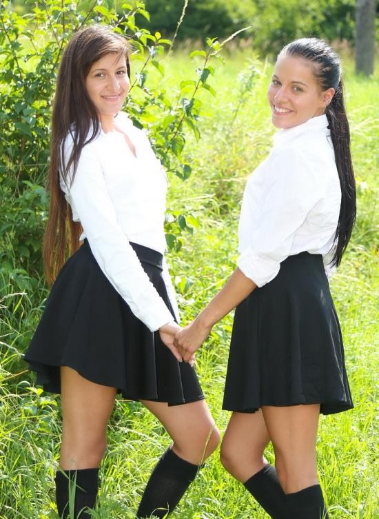 ClubSevenTeen - Evelyn I, Cindy T - 3 Catholic Girls And A Naughty Nun Part 2 (FullHD/1.20 GB)