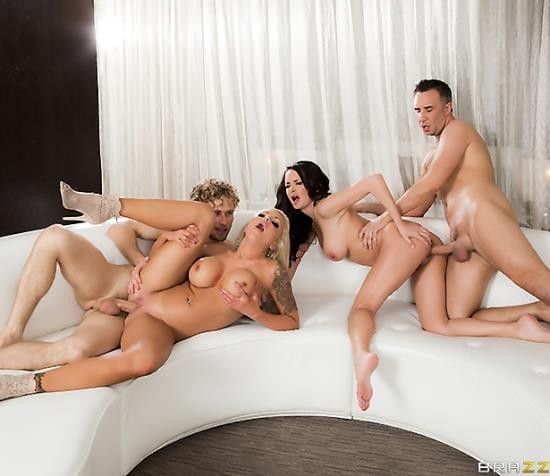 RealWifeStories/BraZZers - Alektra Blue, Nina Elle - Swingers On Vacation: Part 1 (HD/1.08 GiB)