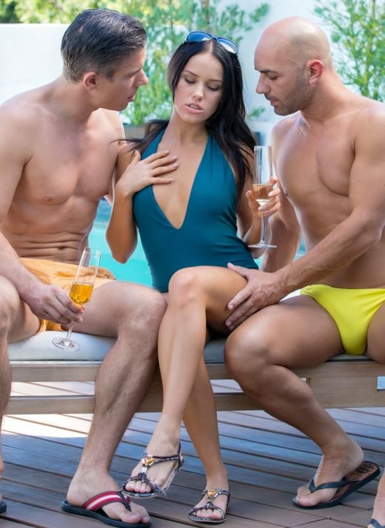 Tushy - Megan Rain - Bad GF Gets DP On Vacation (HD/2.19 GB)