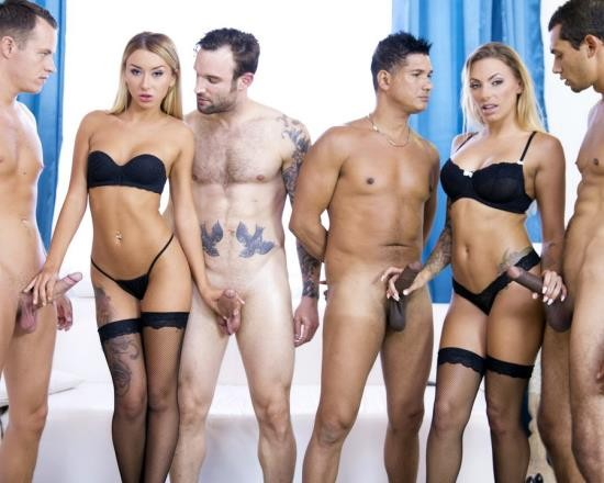 LegalPorno - Katrin Tequila, Juelz Ventura - Extreme 4 On 2 Orgy With DP, DAP And More RS274 (FullHD/5.75 GB)