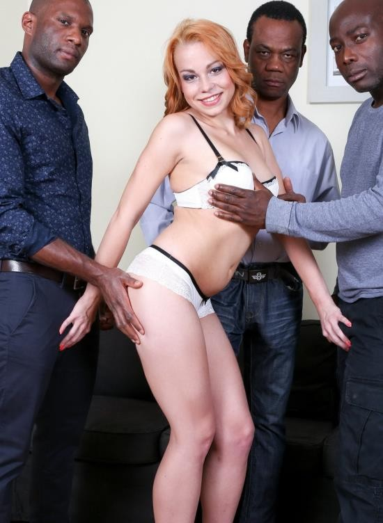 LegalPorno - Rebecca - Hard Interracial DAP IV008 (S/1.01 GB)