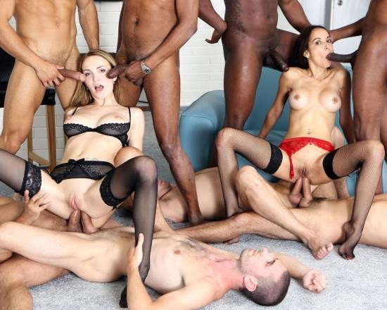 LegalPorno - Belle Claire, Francys Belle - 8 On 2 Belle Factor Part 2. Gangbang/Multiple Facial/Party/Swallow/Drowning GIO206 (FullHD/4.33 GB)