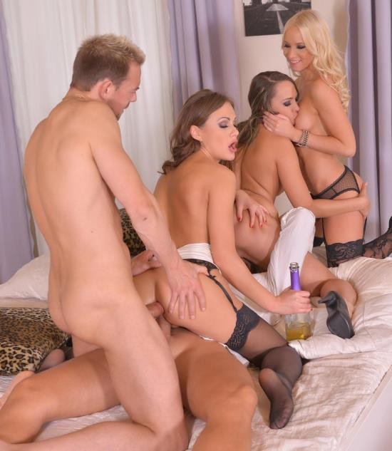 HandsonHardcore/DDFNetwork - Blue Angel, Kiara Lord, Tina Kay - New Years Eve Group Fuck: 5 Gangbang Lovers Love To Party! (FullHD/1.93 GiB)