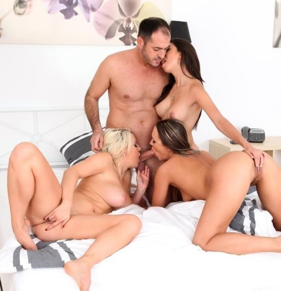 EuroSexParties/RealityKings - Frida Sante, Blue Angel, Sienna Day - Triple Licking (HD/1.23 GiB)