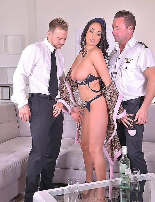 DDFBusty/DDFNetwork - Anissa Kate - 2 Pilots, 1 Stewardess: Hardcore Double Penetration in Hotel! (FullHD/1.88 GiB)