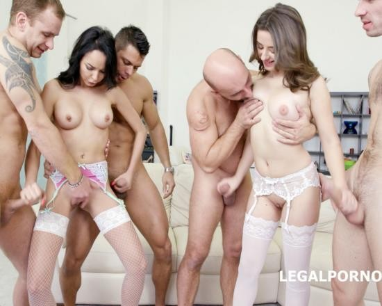 LegalPorno - Francys Belle, Gabriella - Double Addicted With Francys Belle And Gabriella DP/DAP/Gapes/Prolapse/Cuswapping GIO289 (FullHD/4.38 GB)
