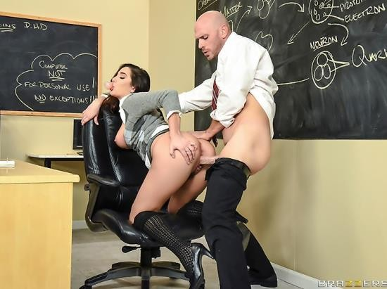 BigTitsAtSchool/BraZZers - Karlee Grey - No Bubblecum In The Classroom (HD/2.10 GB)