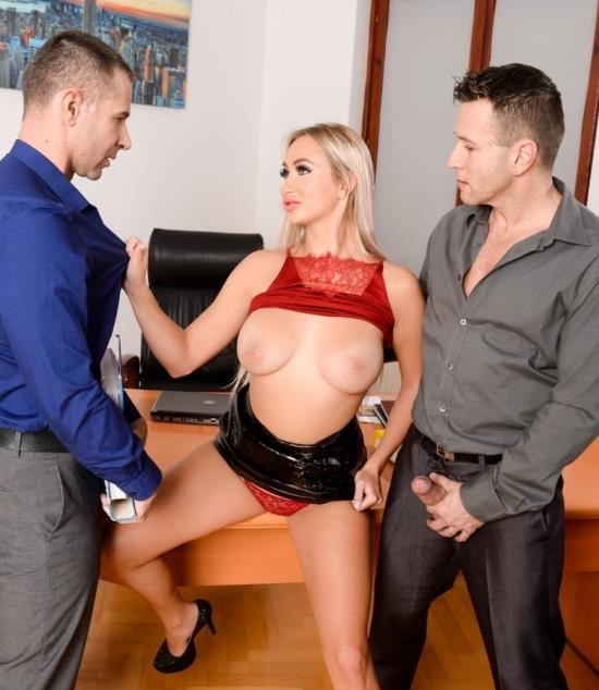 DPFanatics/21Sextury - Lara Onyx - Office Double-Shift (HD/1.02 GiB)