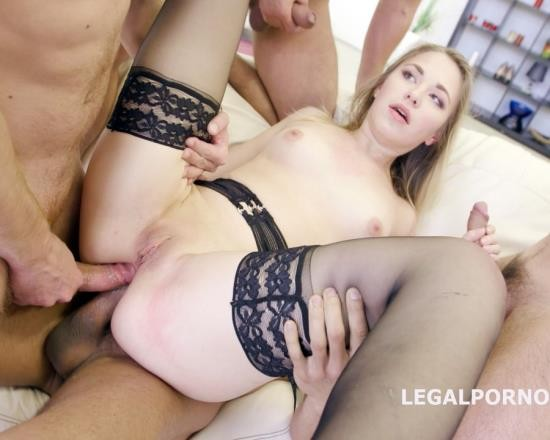 LegalPorno - Selvaggia - 5 On 1 Welcome In Porn With Selvaggia. No Pussy/DAP/Big Gapes 19yo Girl Fucked Like A Pro GIO273 (FullHD/4.76 GB)
