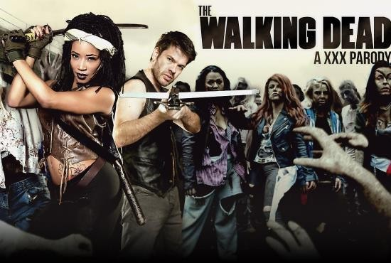 DigitalPlayground - Kiki Minaj - The Walking Dead: A XXX Parody (HD/942 MiB)