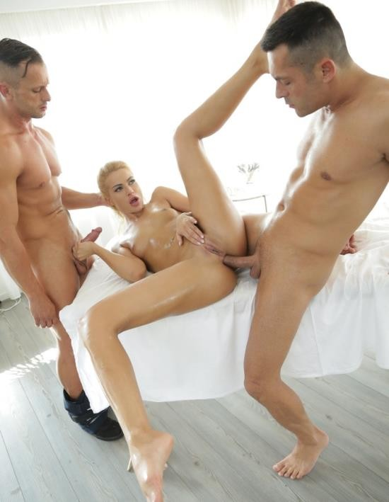 DorcelClub - Cherry Kiss - Gets Banged By 2 Men (HD/360 MiB)