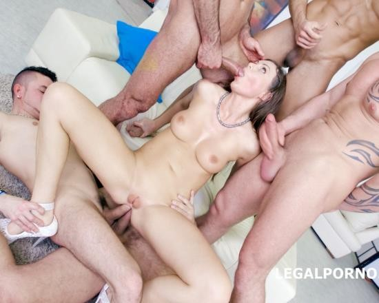 LegalPorno - Tina Kay - 7 On 1 Double Anal GangBang With Tina Kay No Pussy/Balls Deep Anal/DAP/12 Swallow/No Doubt She Is A Pro Slut! GIO333 (HD/1.61 GB)