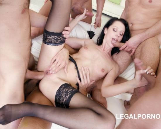 LegalPorno - July Sun - 10 On 1 Double Endurance - July Sun GIO343 (HD/2.40 GB)