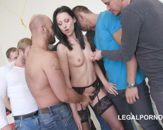 LegalPorno - July Sun - 10 On 1 Double Endurance - July Sun GIO343 (FullHD/6.26 GB)
