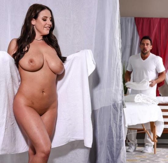 DirtyMasseur/BraZZers - Angela White - The Wrong Massage Feels So Right (HD/2.20 GiB)