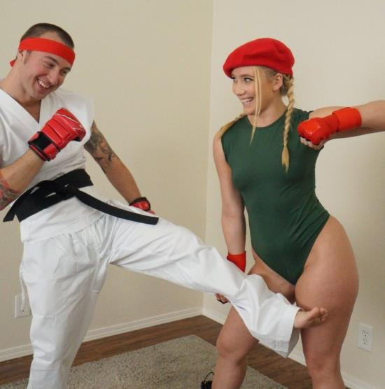 IKnowThatGirl/Mofos - AJ Applegate - Video Game Cosplay Fuck (FullHD/2.76 GiB)