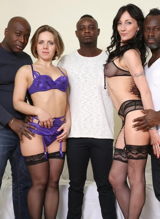 LegalPorno - Sasha Zima, Lyna Cypher - Sasha Zima And Lyna Cypher Know How To Spice Three Black Guys Day. Fisting Kinky Sex And Rough Play IV056 (HD/2.30 GB)