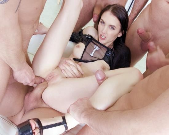 LegalPorno - Crystal Greenvelle - 7 On 1 Double Anal GangBang With Crystal Greenvelle GIO346 (HD/1.59 GB)