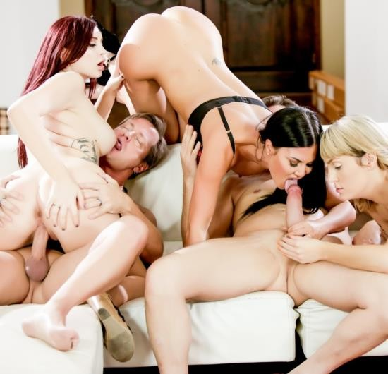 DevilsFilm - Amber Ivy, Maxim Law, Jasmine Jae - Neighborhood Swingers 19, Scene 1 (FullHD/2.40 GiB)