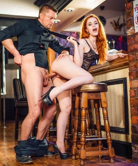 Private - Ella Hughes - Swinger Ella Hughes Takes a Facial at the Bar (HD/628 MiB)