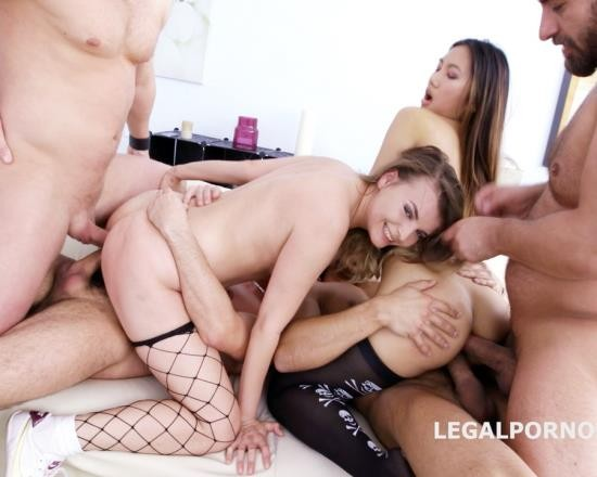 LegalPorno - May Thai, Jessica Spielberg - DP And DAP With May Thai And Jessica Spielberg GIO358 (HD/1.57 GB)