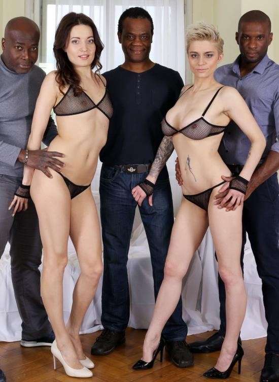 LegalPorno - Roxy Dee, Mila Milan - Roxy Dee And Mila Milan - Two Horny Houswifes Take On Three Big Black Cocks IV067 (HD/2.40 GB)