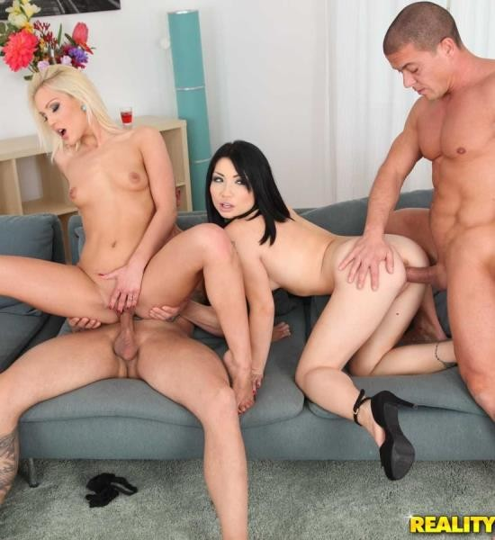 EuroSexParties/RealityKings - Rina Ellis, Cecilia Scott - One Hot Foursome (HD/832 MiB)