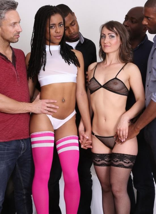 LegalPorno - Angel Karyna, Kira Noir - Oh My God Double Anal And Fisting Buffet Part 1 IV078 (HD/1.41 GB)