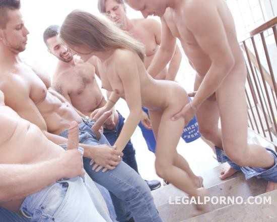 LegalPorno - Evelina Darling - 9 On 1 Double Anal Gang Bang With Evelina Darling, Balls Deep Anal, Intense DAP, More Dap, 9 Swallows GIO431 (HD/1.48 GB)