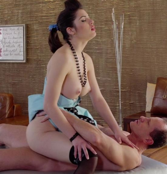 PinupSex/PornDoePremium - Suzy Bell - Busty elegant Czech pinup babe Suzy Bell gets cum on pussy in classy fuck (FullHD/1.73 GiB)