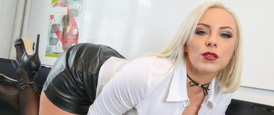 PornDoePremium - Lilli Vanilli - Hot busty German Lilli Vanilli gets cum covered in naughty office sex (FullHD/1080p/2.03 GB)