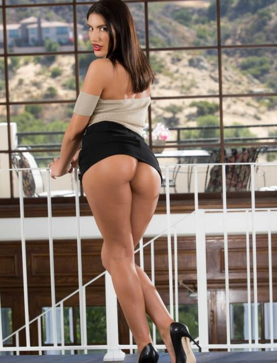 PornstarsLikeItBig/BraZZers - August Ames - The Biggest Whore In Hollywood (FullHD/2.63 GiB)