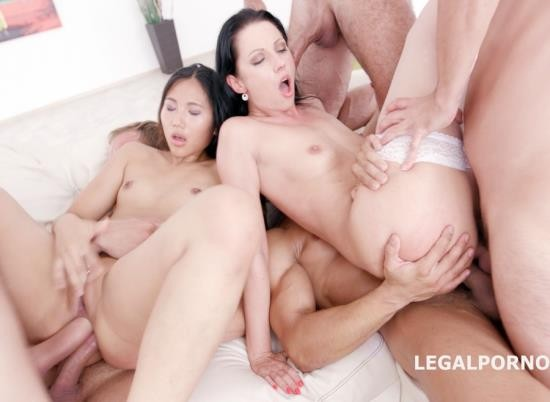 LegalPorno - July Sun, May Thai - Double Ravage 2 With Mai Thai And July Sun 6 On 2 Manhandle, Submission, DAP Balls Deep, Gapes, Prolapse Licking GIO412 (HD/1.72 GB)
