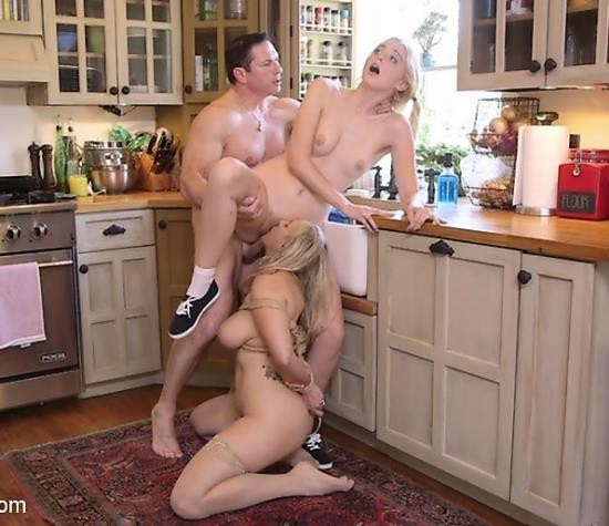 TheUpperFloor/Kink - Angel Allwood, Chloe Cherry - A Mothers Job is Never Done: Anal Assassin Trains Her Step-Daughter (HD/2.63 GiB)
