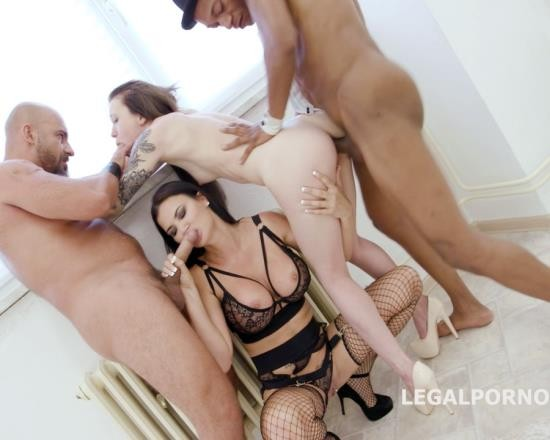 LegalPorno - Monika Wild, Jasmine Jae - Limit Overcoming Part 1 - Total Abuse And Degrading Of Monika Wild By Jasmine Jae - Submission, Foot Fetish GIO434 (HD/1.48 GB)