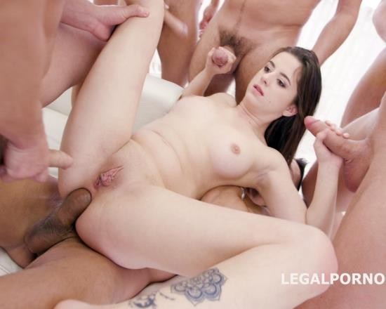 LegalPorno - Gabriella - 15 On 1 TP GangBang With Gabriella Balls Deep Anal, DAP, TP, Gapes, Final DP, 17 Cumshots With Facial And Swallow GIO455 (FullHD/4.73 GB)