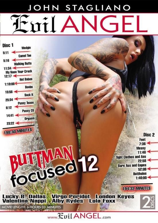 Buttman Focused 12 (DVDRip/3.55 GiB)