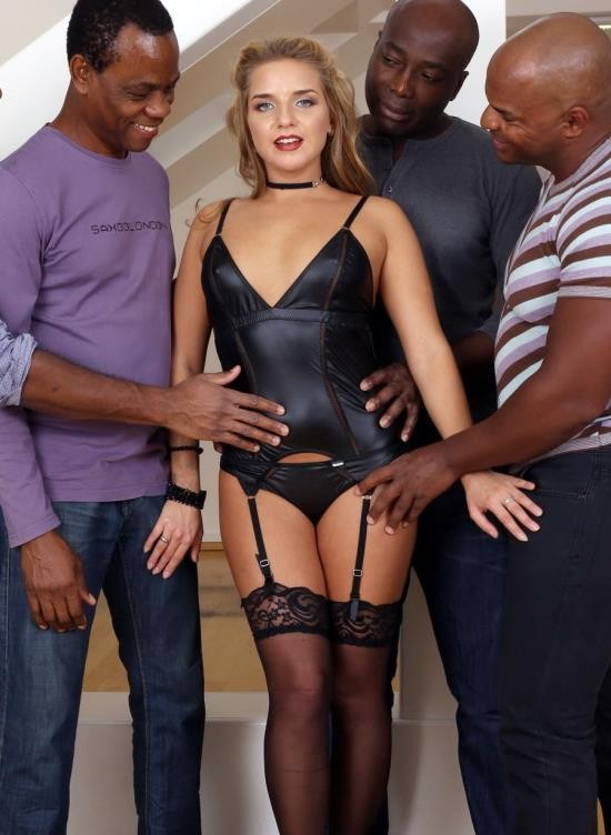 LegalPorno - Sofi Goldfinger - Bitch Sofi Goldfinger Deals With Four Black Cocks IV121 (HD/2.24 GB)