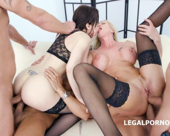 LegalPorno - Lara De Santis, Monika Wild - 4 On 2 Manhandle And DAP Monika Wild Gets The Fuck Of Her Life With Lara De Santis Balls Deep Anal, DAP, Gapes, Slapping GIO497 (FullHD/4.66 GB)