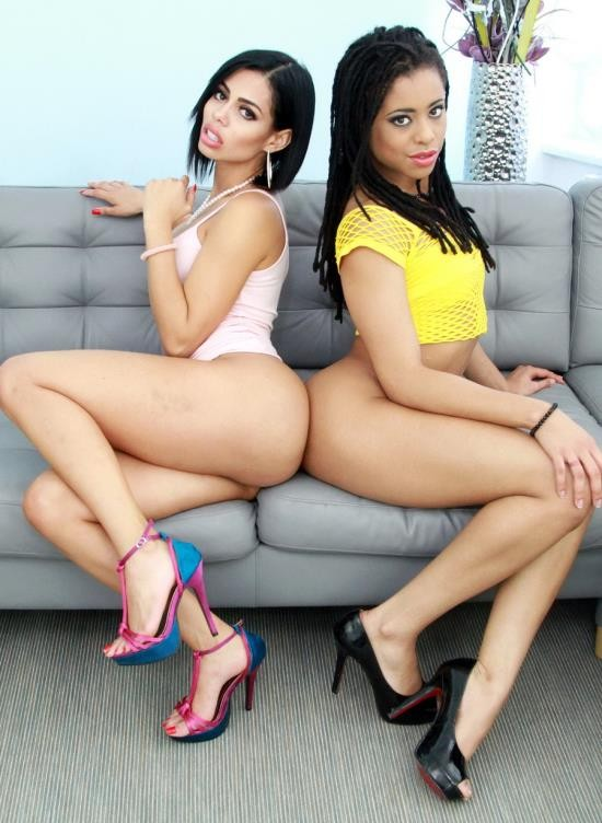 LegalPorno - Canela Skin, Kira Noir - Kira Noir And Canela Skin Lick And Toy Each Others Ass To Prepare For Double Penetration SZ1771 (FullHD/4.11 GB)