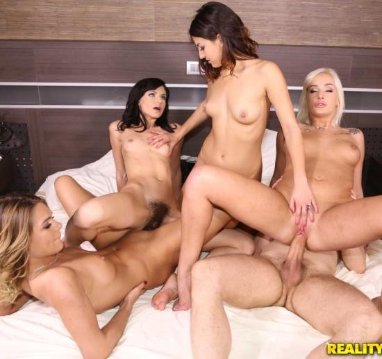 EuroSexParties/RealityKings - Arian Joy, Suzy Rainbow, Lara West - Meeting The Girls (FullHD/2.37 GiB)