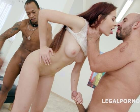 LegalPorno - Scyley Jam - From DP To Deep DAP - Scyley Jam Training With Balls Deep Anal, DP, DAP, Gapes, Facial, Swallow GIO506 (FullHD/4.36 GB)