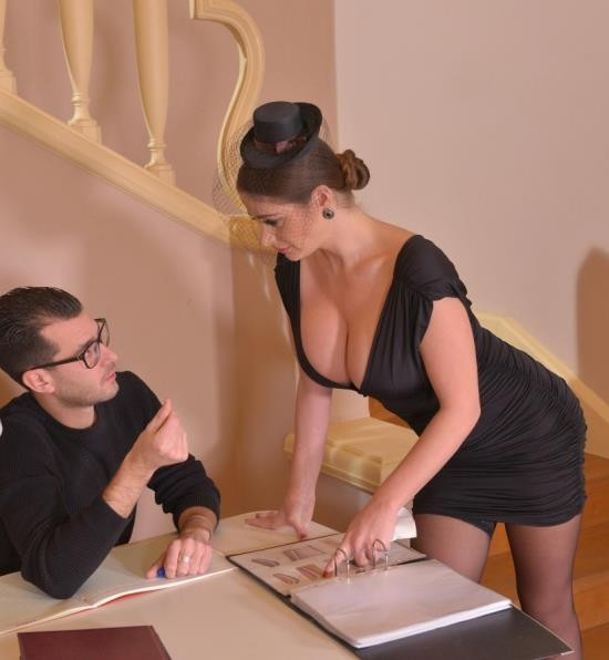 DDFBusty/DDFNetwork - Cathy Heaven - From Mourning to Moaning (HD/997 MiB)