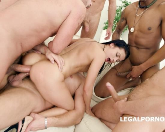 LegalPorno - Nicole Black - 7 On 1 DAP Gangbang With Nicole Black No Pussy, Balls Deep Anal, DAP, Swallow GIO521 (FullHD/4.61 GB)