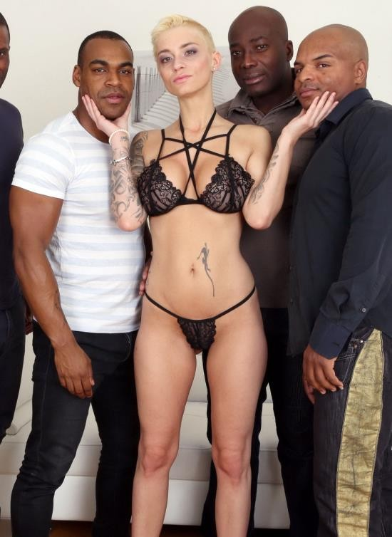 LegalPorno - Mila Milan - Mini Gangbang For Mila Milan - 4 Black Guys Cum All Over Her IV143 (HD/1.93 GB)