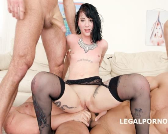 LegalPorno - Charlotte Sartre - 7 On 1 DAP Gangbang With Charlotte Sartre Balls Deep Anal And DAP, Big Gapes, Facial, Swallow GIO575 (HD/1.96 GB)
